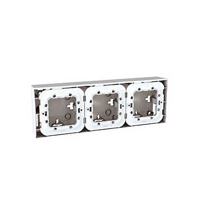 Schneider Electric MGU87.026.18 Unica Plus-krabice pro montáž na omítku vč.plast.mont.rámečku-6m-6 otv.-polar