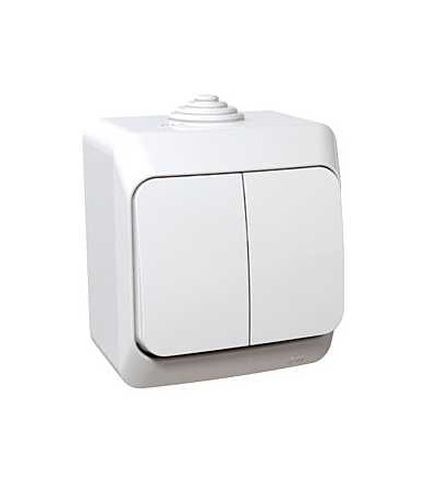 Schneider Electric WDE000550 Cedar Plus, přepínač sériový ř.5, 16AX, bílá
