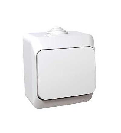Schneider Electric WDE000560 Cedar Plus, přepínač střídavý ř.6, 16AX, bílá