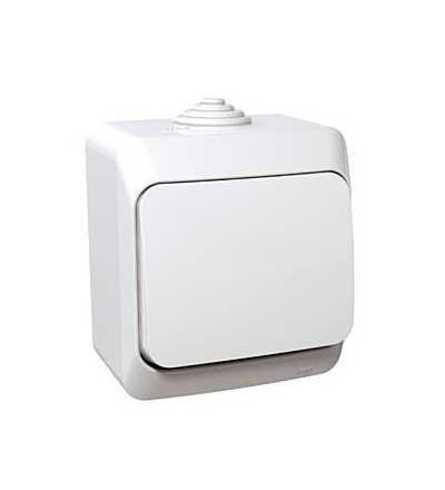 Schneider Electric WDE000511 Cedar Plus, ovládač tlačítkový, 16A, bílá