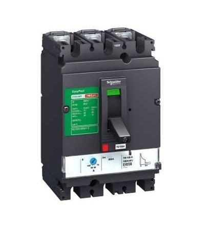 Schneider Electric LV525333 Easypact CVS, CVS250F TM250D jistič, 3p/3d