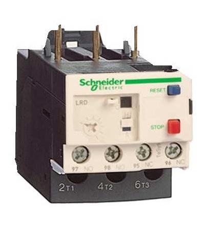 Schneider Electric LRD07 TeSys D jisticí nadproudové relé, 1,6...2,5A, třída 10A