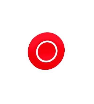 Schneider Electric ZBA7432 červený hmatník označený O pro obd. vícehlavové tlač. ? 22