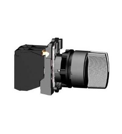 Schneider Electric XB5AD53 černý kompletní otočný přepínač ? 22 3-polohy s návratem VZ