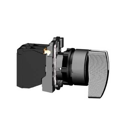 Schneider Electric XB5AJ21 černý kompletní otočný přepínač ? 22 2-polohy pevné 1Z
