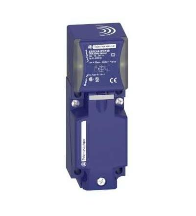 XS9C4A1PCP20 Indukční čidlo XS9 40x40x117, PBT, Sn20mm, 12..24VDC, svorky, Schneider Electric