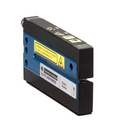 XUYFLNEP60005 Fotoel. čidlo, XUY, vidlicové, laser, pot+/, 5X59mm, 12..24VDC, M8, Schneider Electric