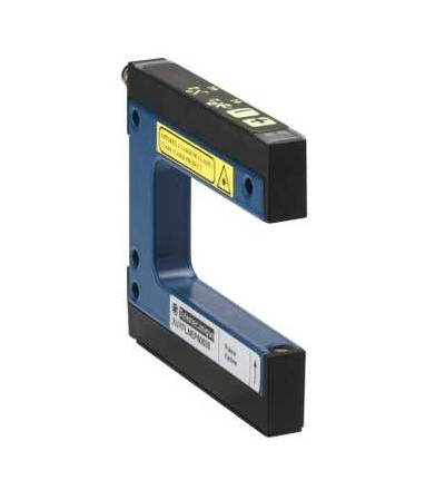 XUYFLNEP60050 Fotoel. čidlo, XUY, vidlicové, laser, pot+/, 50X59mm, 12..24VDC, M8, Schneider Electric