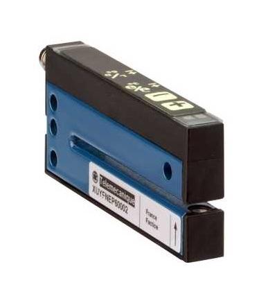 XUYFNEP60005 Fotoelektrické čidlo, XUY, vidlicové, pot+/, 5X59mm, 12..24VDC, M8, Schneider Electric
