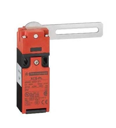XCSPL762 Plast. poloh. spínač XCSPL, 2V, otočná páka, 1 závitový otvor M16x1,5, Schneider Electric