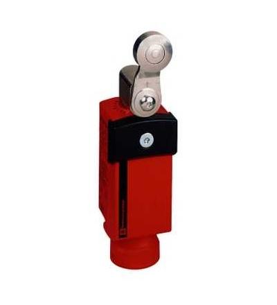 XCSP3919P20 Bezp. polohový spínač, plast, otočná páka, 2V+1Z, 1závitový otvor M20x1,5, Schneider Electric