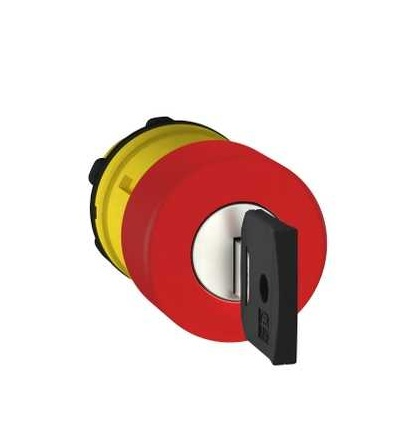 Schneider Electric ZB5AS934K červená O30 ovl.hlav.stisk.nouz.zastav.? 22 vypnuto a s aretací