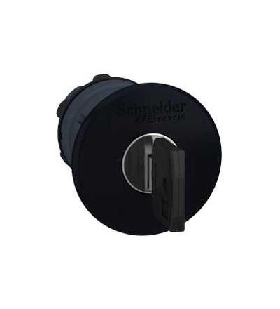 Schneider Electric ZB5AS12K černá O40 hlavice s hřibovým tlačítkem ? 22 s aretací