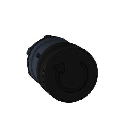 Schneider Electric ZB5AS42 černá O30 hlavice s hřibovým tlačítkem ? 22 s aretací