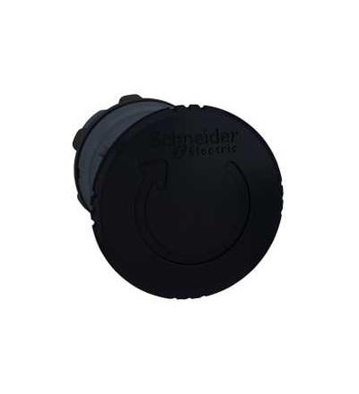 Schneider Electric ZB5AS52 černá O40 hlavice s hřibovým tlačítkem ? 22 s aretací