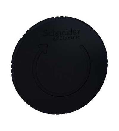 Schneider Electric ZB5AS62 černá ? 60 hlavice s hřibovým tlačítkem ? 22 s aretací