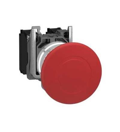 Schneider Electric XB4BT845 červená O40 ovl.tlač.nouz.zastav.? 22 vypnuto s aretací