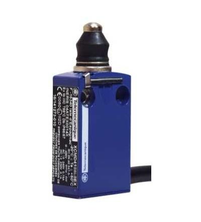 XCMD4111L5EX Polohový spínač XCM, D, čep s elastomerováou krytkou, 2x(1V+1Z), ATEX, Schneider Electric