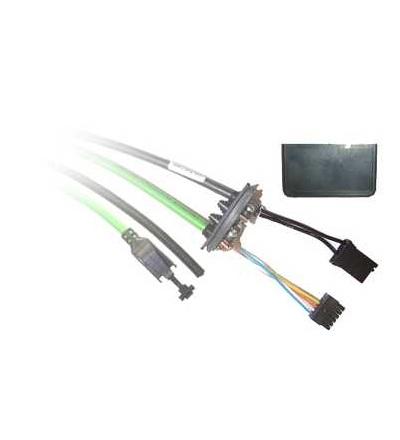Schneider Electric VW3L2T001R30 Instalační kabel. sada pro sběr.prům.rozhranní+napájení, Modbus TCP, 3m