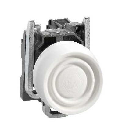 Schneider Electric XB4BPS11EX Bílá tlač. ? 22, s návratem, 1 Z ATEX