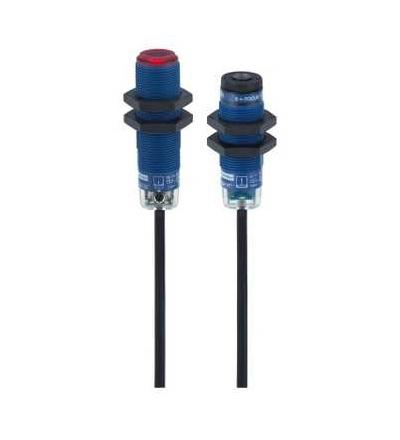 XUBLAPCNL2 Fotoelektrické čidlo, XUB, thru beam, laser, Sn 100m, 12..24VDC, kabel 2m, Schneider Electric