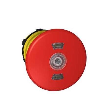 Schneider Electric ZB5AT8643M červená O40 prosvět. ovl. hlav. stisk. nouz. zastav. ? 22 vypnuto a s aretací