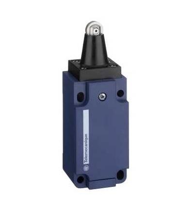 XCKS502H29 Poloh. spínač XCKS, čep s ocelovou kladkou, 1Z+1V, zpož., kabel.vstup M20, Schneider Electric