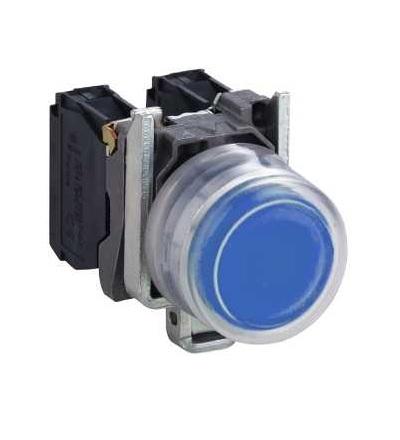 Schneider Electric XB4BP683M5EX Modrá prosvět. tlač., ? 22, 240 V, ATEX