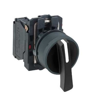 Schneider Electric XB5AJ53 černý kompletní otočný přepínač ? 22 3-polohy s návratem VZ