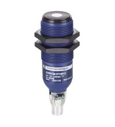 XX9V3A1F1M12 Ultrazvukové čidlo válcové M30, Sn 1m, 0..10 V, M12 konektor, Schneider Electric