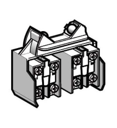 XCRZ15 Kontaktní blok XCRZ, 2x(1Z+1V), s prodlevou, přednost při zapnutí, Schneider Electric
