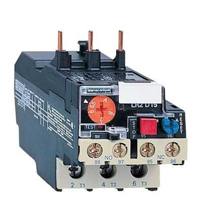 Schneider Electric LRD1522 TeSys D jisticí nadproudové relé, 17...25A, třída 20