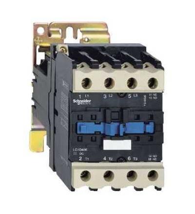 Schneider Electric LP1D40008ED TeSys D stykač, 4p(2Z+2V), AC-1, ? 440 V 60A, 48 V DC cívka