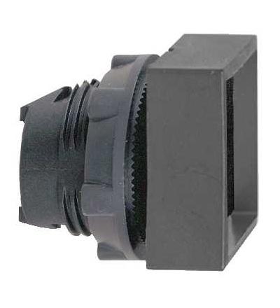 Schneider Electric ZB5CA26 černá čtver. zapuš. ovl. hlavice stiskací ? 22 s návratem neoznačená
