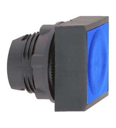 Schneider Electric ZB5CW3636 Modrá čtver.zapuš.ovl.hlavice stiskací prosvět.? 22 s návratem pro integ.LED