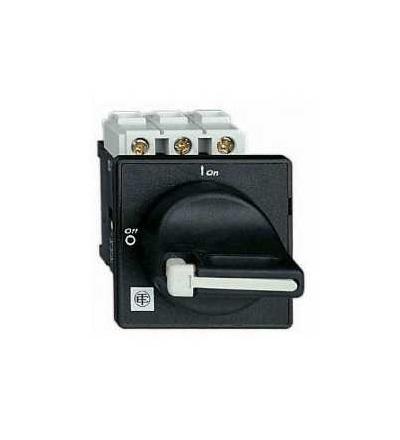 VBF3 Odpínač VBF, 3p, 690 V 63A, uzamykatelná černá rukojeť, Schneider Electric