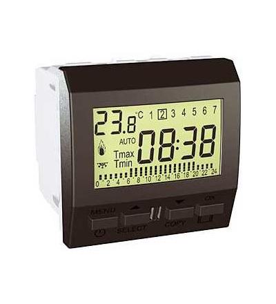 Schneider Electric MGU3.505.12 Unica Top/Class-termostat týdenní programovatelný-230V AC-2m-grafit