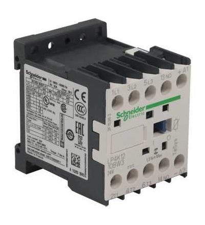 Schneider Electric LP4K1210BW3 TeSys K stykač, 3p (3Z), AC-3, ? 440 V 12A, cívka 24 V DC