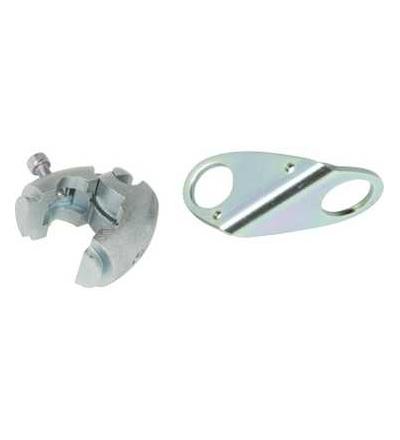 XUZB2003 Příslušenství pro čidlo, 3D upevňovací sada, držák s koule, spojka, O18mm, Schneider Electric