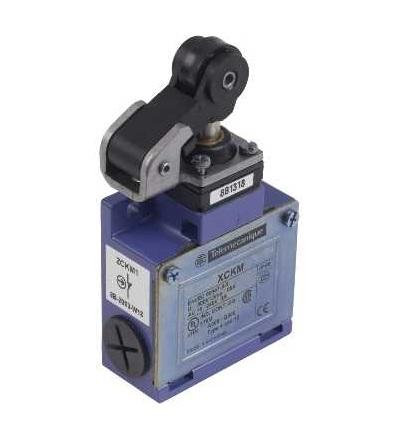 XCKM121 Pol.spín.XCKM-čep a páka s termoplast.kladkou-1Z+1V-mžik.funkce-kabel.vstup Pg11, Schneider Electric