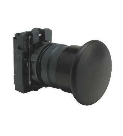 Schneider Electric XB5AC21 černá O40 hlavice s hřibovým tlačítkem ? 22 s návratem 1Z