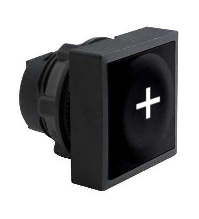 Schneider Electric ZB5CA2934 černá čtver. zapuš. hlava tlačítka ? 22 s návratem