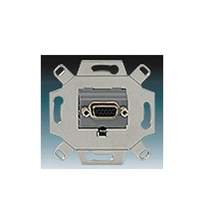 ABB Zásuvka komunikační VGA šedá 0230-0-0426