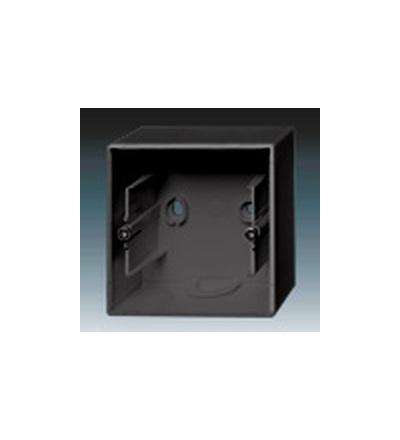 ABB Krabice přístrojová jednonásobná, nástěnná antracitová 1799-0-0895