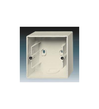 ABB Krabice přístrojová jednonásobná, nástěnná slonová kost 1799-0-0896
