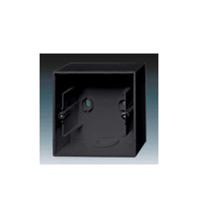ABB Krabice přístrojová jednonásobná, nástěnná mechová černá 1799-0-0923