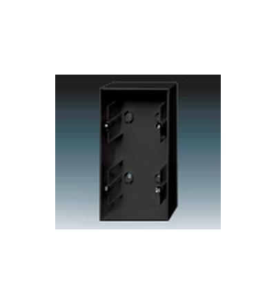 ABB Krabice přístrojová dvojnásobná, nástěnná mechová černá 1799-0-0924