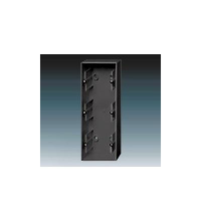 ABB Krabice přístrojová trojnásobná, nástěnná antracitová 1799-0-0915
