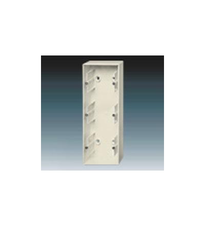 ABB Krabice přístrojová trojnásobná, nástěnná slonová kost 1799-0-0916