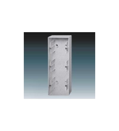 ABB Krabice přístrojová trojnásobná, nástěnná hliníková stříbrná 1799-0-0917